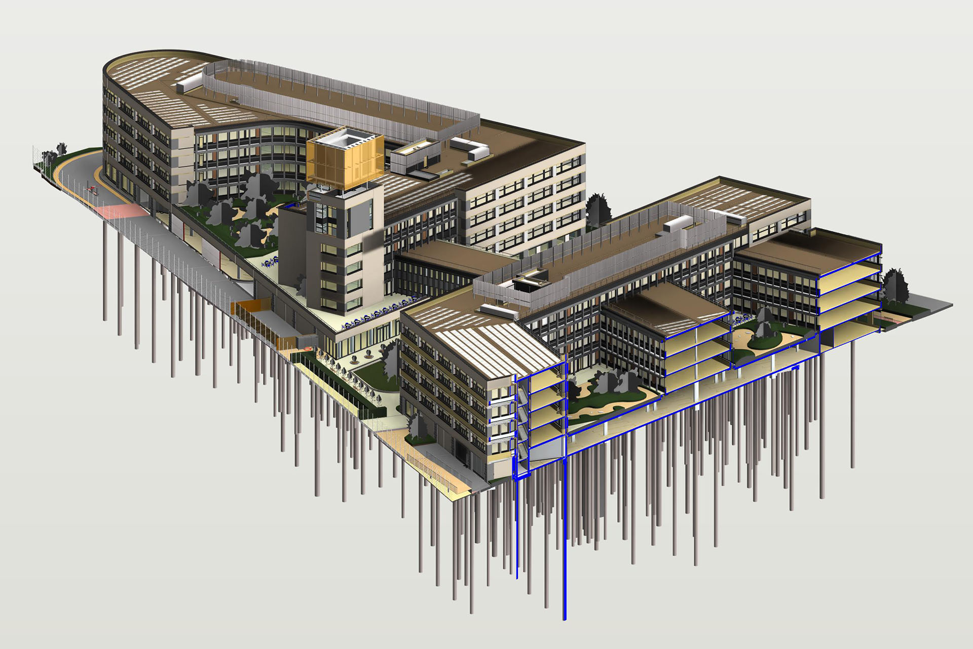 Bim Building Information Modeling Open Spaces Landscape And Arboricultural Consultants