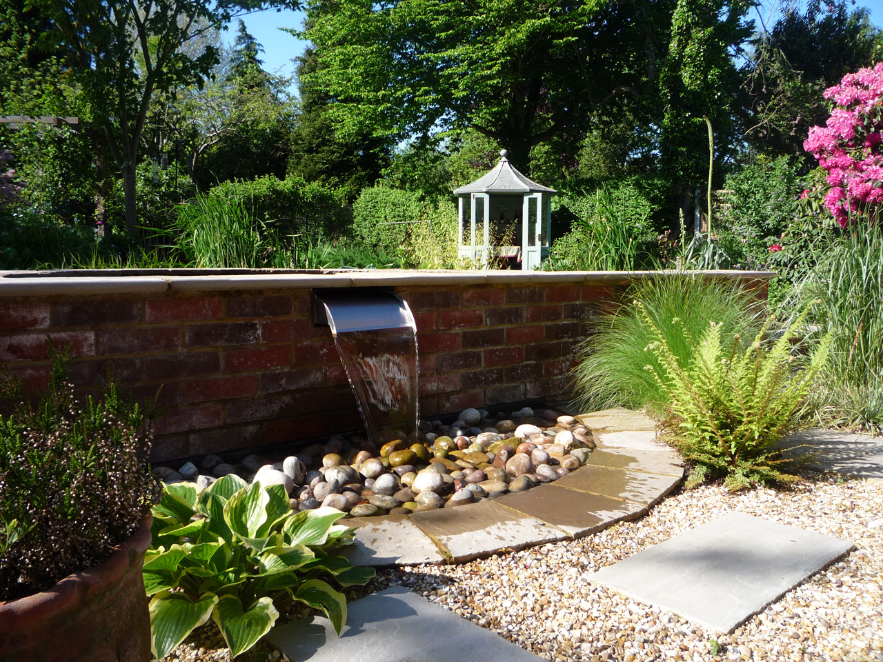 Garden design open spaces landscape and arboricultural for Landscape design suffolk